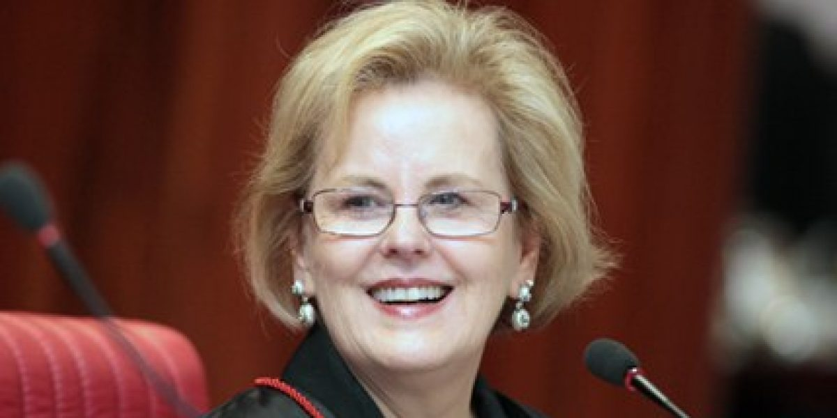 Ministra Rosa Maria Weber será a nova vice-presidente do STF