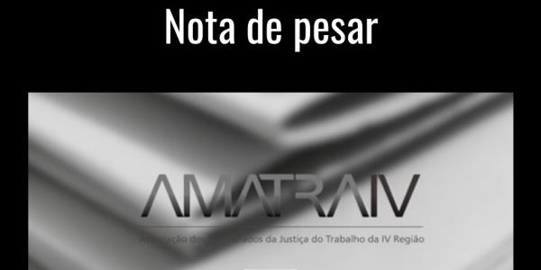 A AMATRA IV comunica o falecimento da juíza do Trabalho Lila Paula Flores França, titular da 1ª VT de Esteio