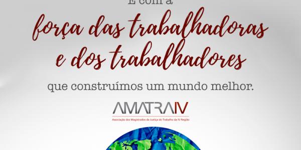 1º de Maio – Dia das Trabalhadoras e dos Trabalhadores