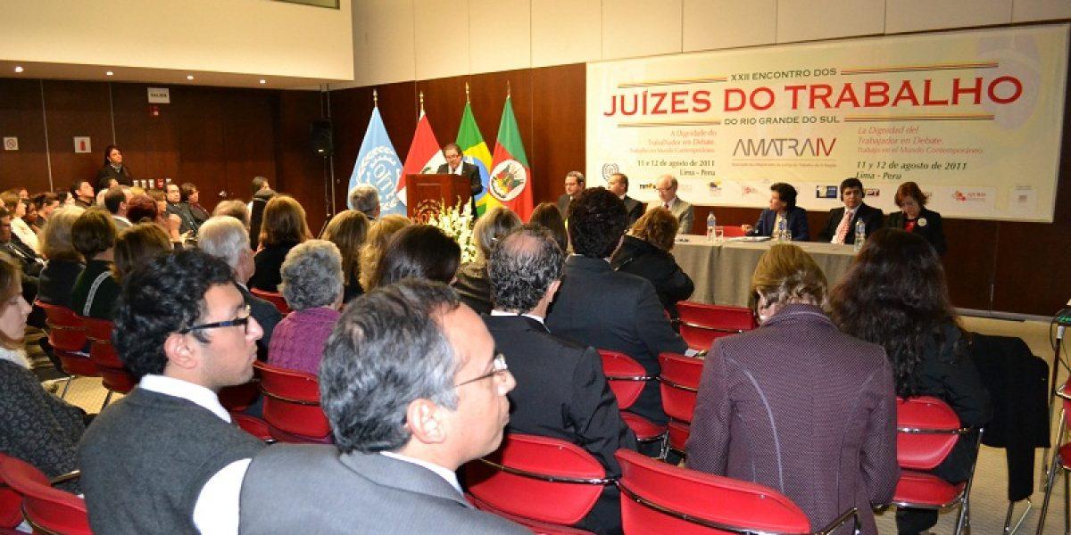 AMATRA IV abre o XXII Encontro Estadual dos Juízes do Trabalho