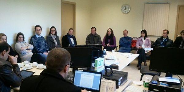 Reunião da diretoria executiva em Caxias do Sul