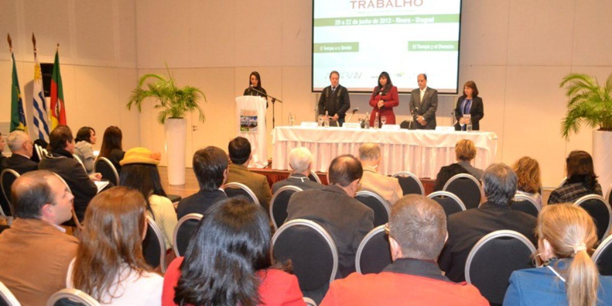 Evento internacional organizado pela AMATRA IV abordou a importância do tempo na atividade judicante