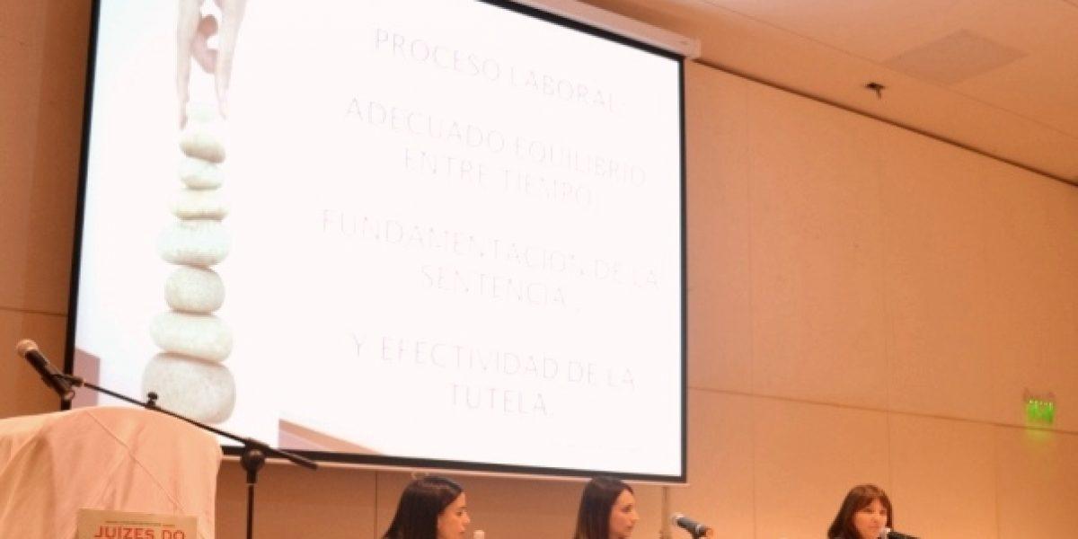 Representantes do Uruguai realizaram as palestras da manhã de 21/6