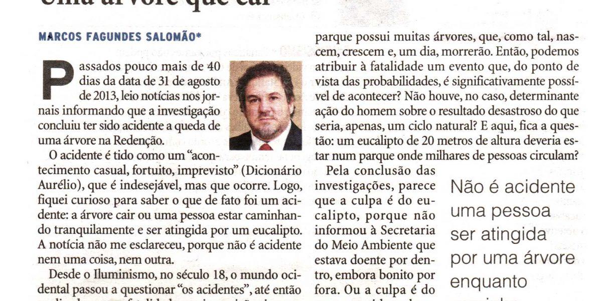 Leia o artigo de autoria do diretor de comunicação da AMATRA IV, Marcos Fagundes Salomão,  publicado no jornal Zero Hora desta terça-feira, 22/10.