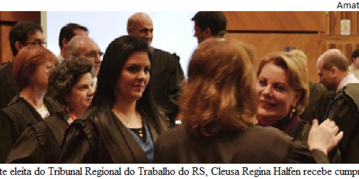 Eleição no TRT-4 ratifica indicações de juízes
