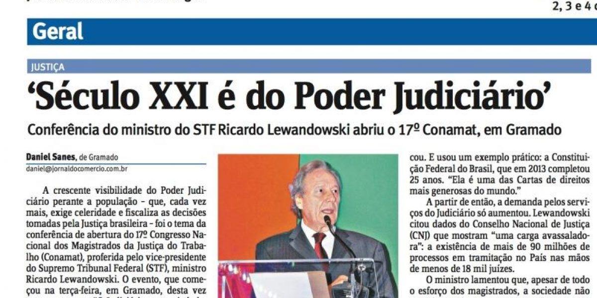 Conamat é destaque no Jornal do Comércio