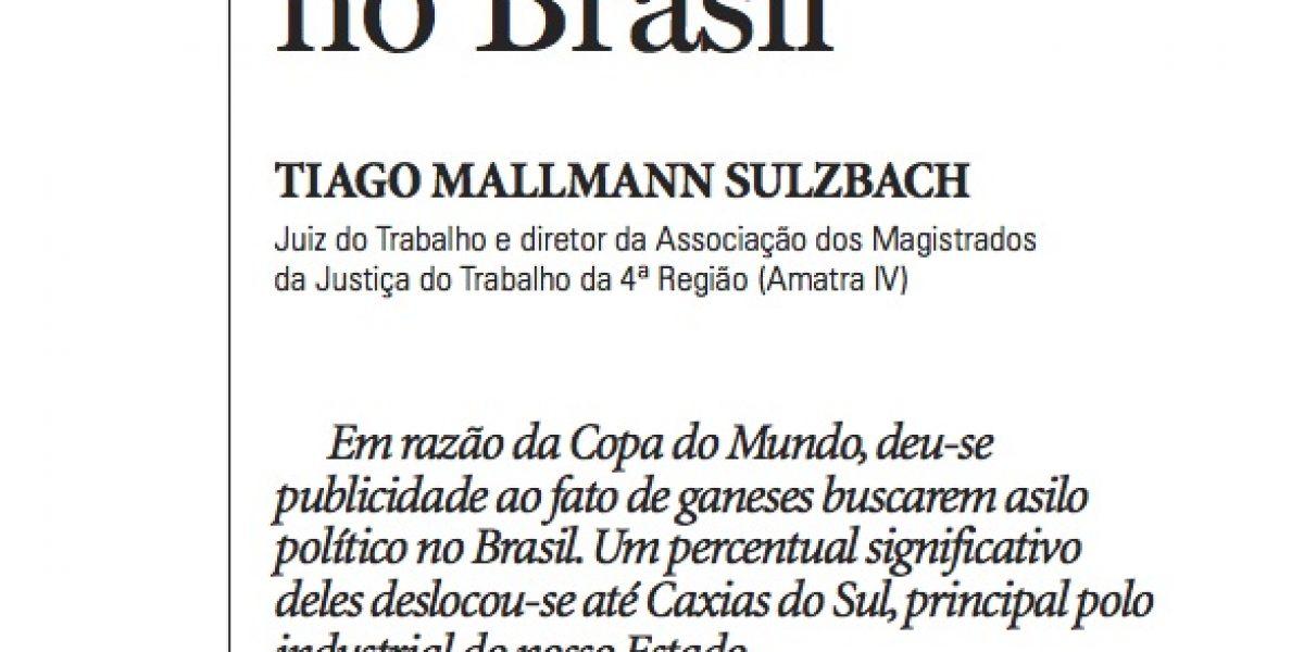 Artigo do diretor da AMATRA IV publicado no Jornal Pioneiro