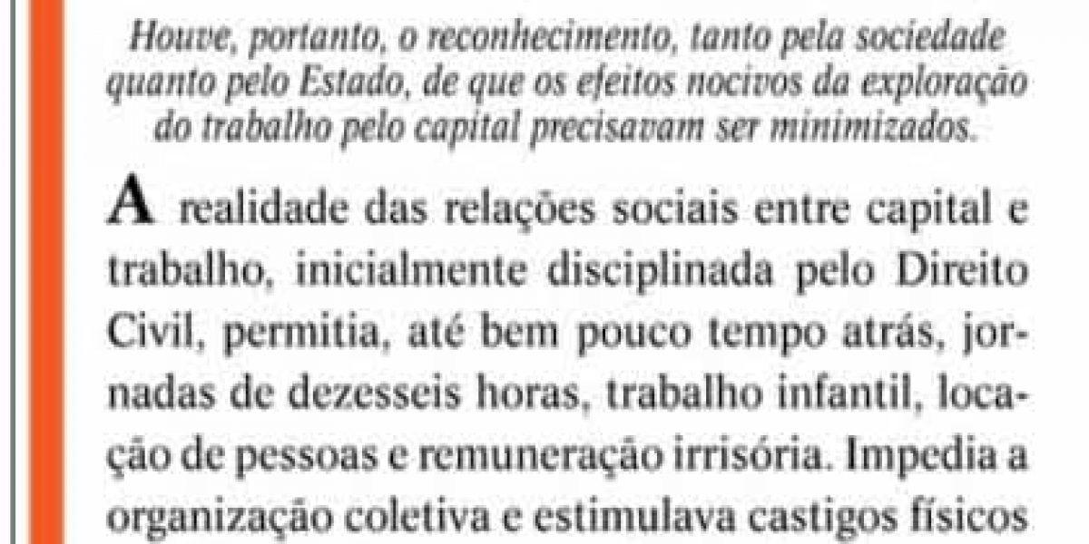 Artigo no Jornal O Sul  sobre terceirização