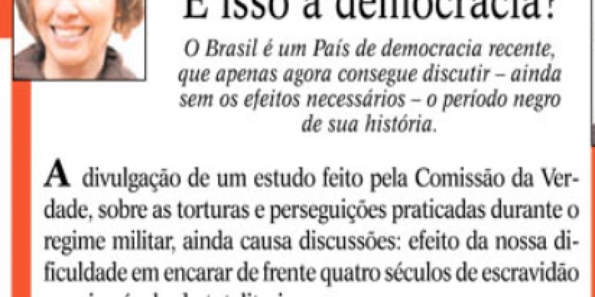 Artigo Jornal O Sul