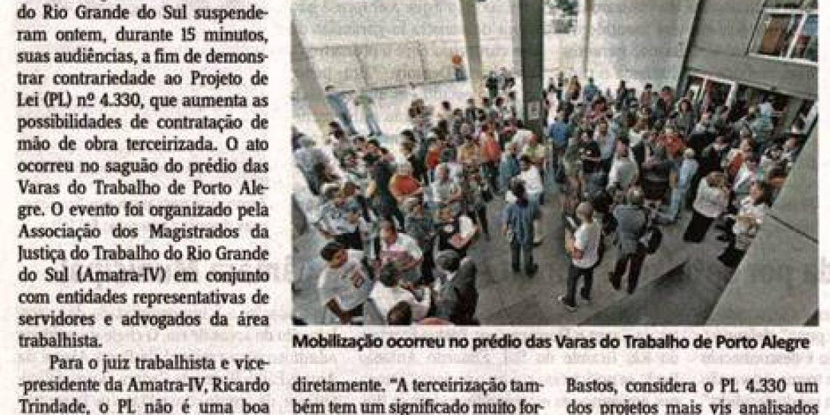 Notícia – JORNAL DO COMÉRCIO 15-4-2015