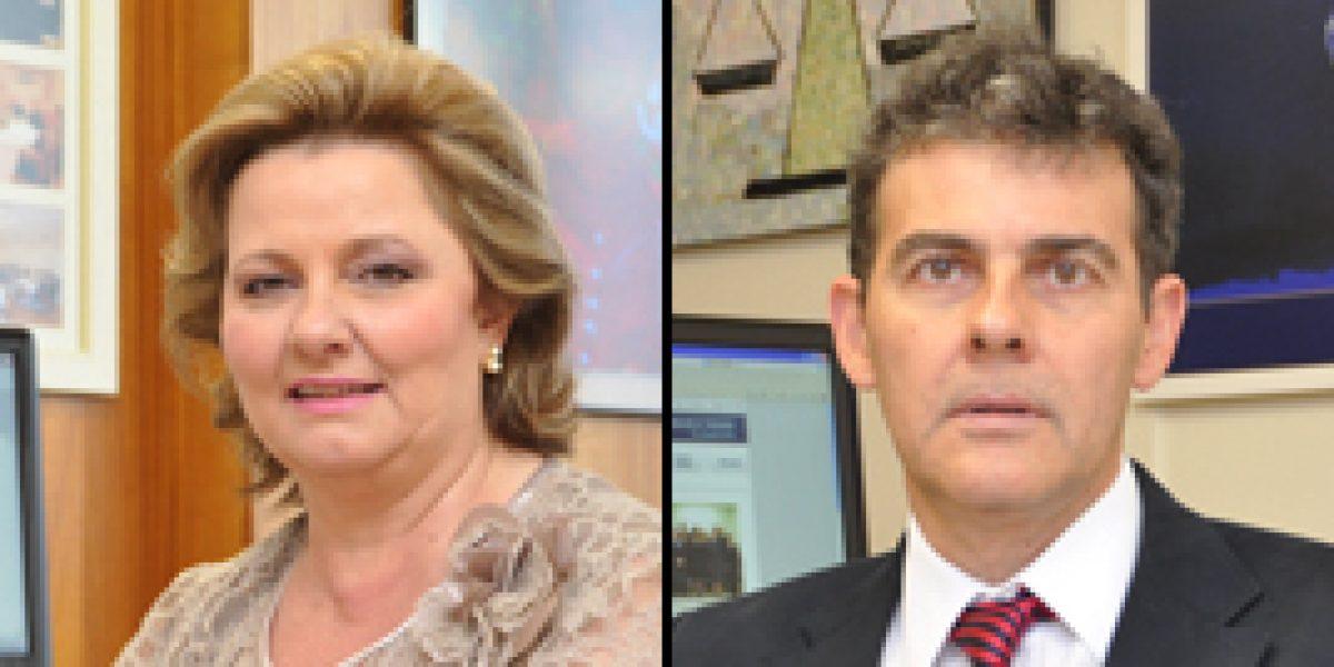 Desembargadores Rosane Casa Nova e Ricardo Fraga receberão a Ordem do Mérito Judiciário do Trabalho em 11/8