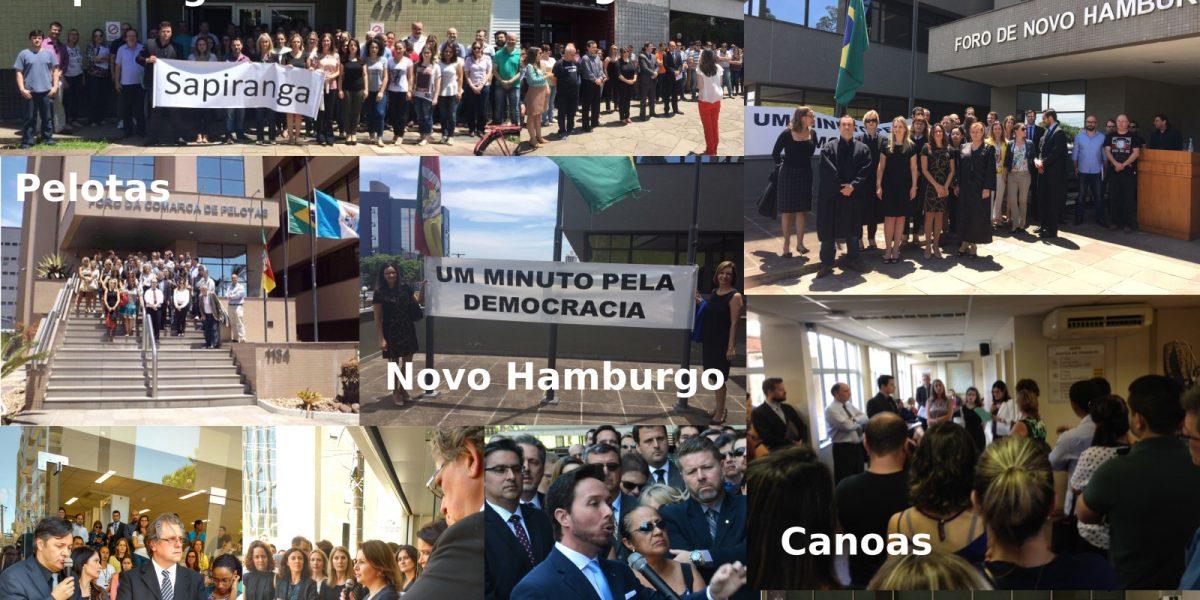 1º de dezembro de 2016: um dia histórico em defesa da magistratura e do MP