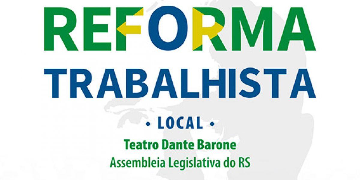 Debate sobre a reforma trabalhista terá transmissão online