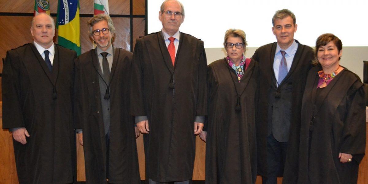 Eleição TRT e Escola Judicial: votação dos desembargadores ratifica escolha dos juízes da 4ª Região