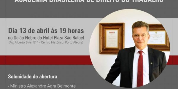 Raimar Machado toma posse na ABDT
