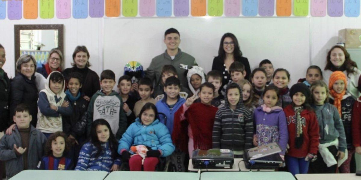 TJC promove atividade em escola de São Sebastião do Caí