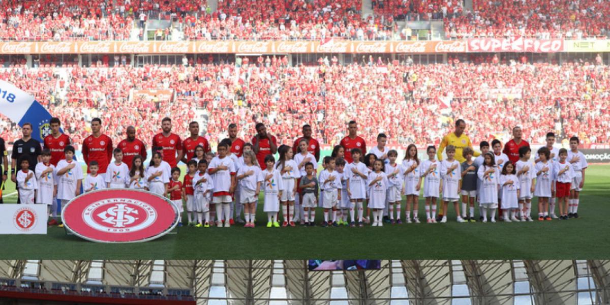 Todos juntos contra o trabalho infantil: ações nos jogos do Inter e Juventude