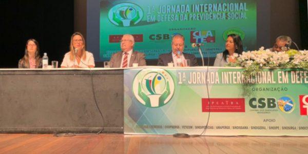Presidente da AMATRA IV participa de evento que debate a Reforma da Previdência