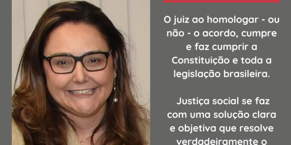 """Artigo: """"Conciliação e Justiça Social"""", de autoria da juíza Maria Cristina Perez"""