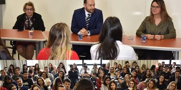 A atuação da Justiça do Trabalho foi tema de encontro com estudantes da PUCRS