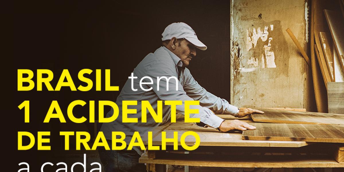 BRASIL tem 1 acidente de trabalho a cada 49 segundos