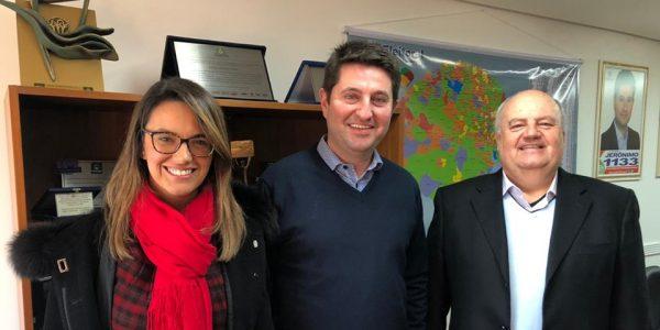 Reunião com o deputado Jeronimo Goergen: Previdência e MP da Liberdade Econômica em pauta