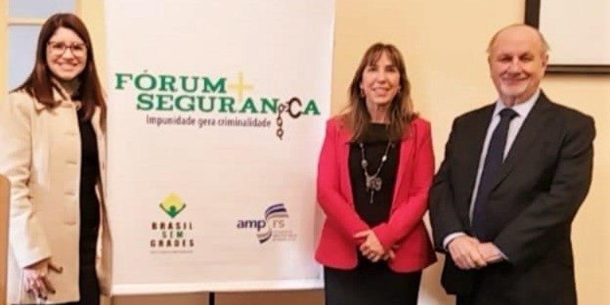 Fórum discute segurança pública e combate à impunidade