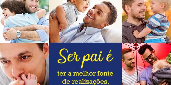 Um feliz dia a todos os pais!
