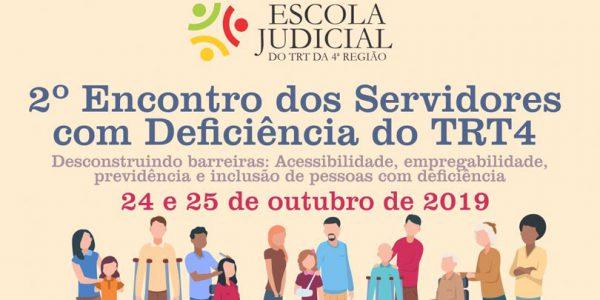 TRT-RS promove evento aberto sobre acessibilidade, empregabilidade e inclusão de pessoas com deficiência. Participe!