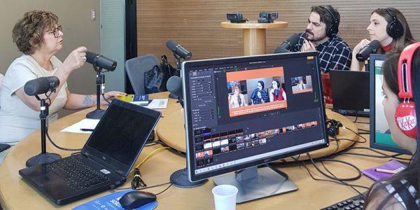 Entrevista da futura presidente do TRT-RS para a Rádio Gaúcha