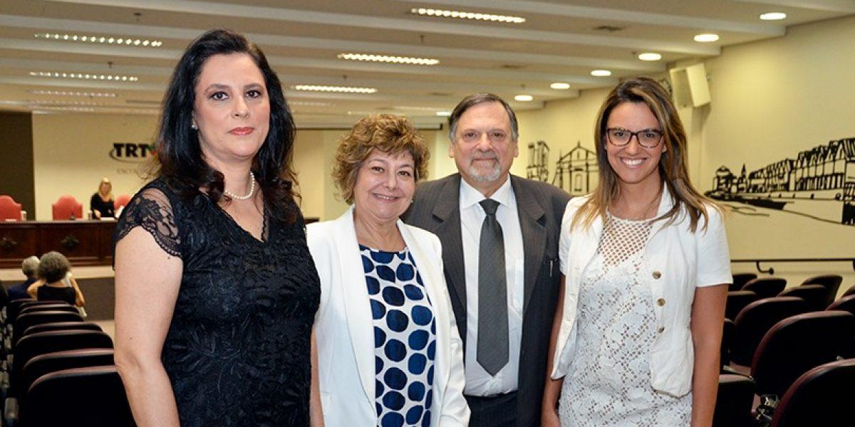 Posse dos novos diretores do Fórum Trabalhista de Porto Alegre