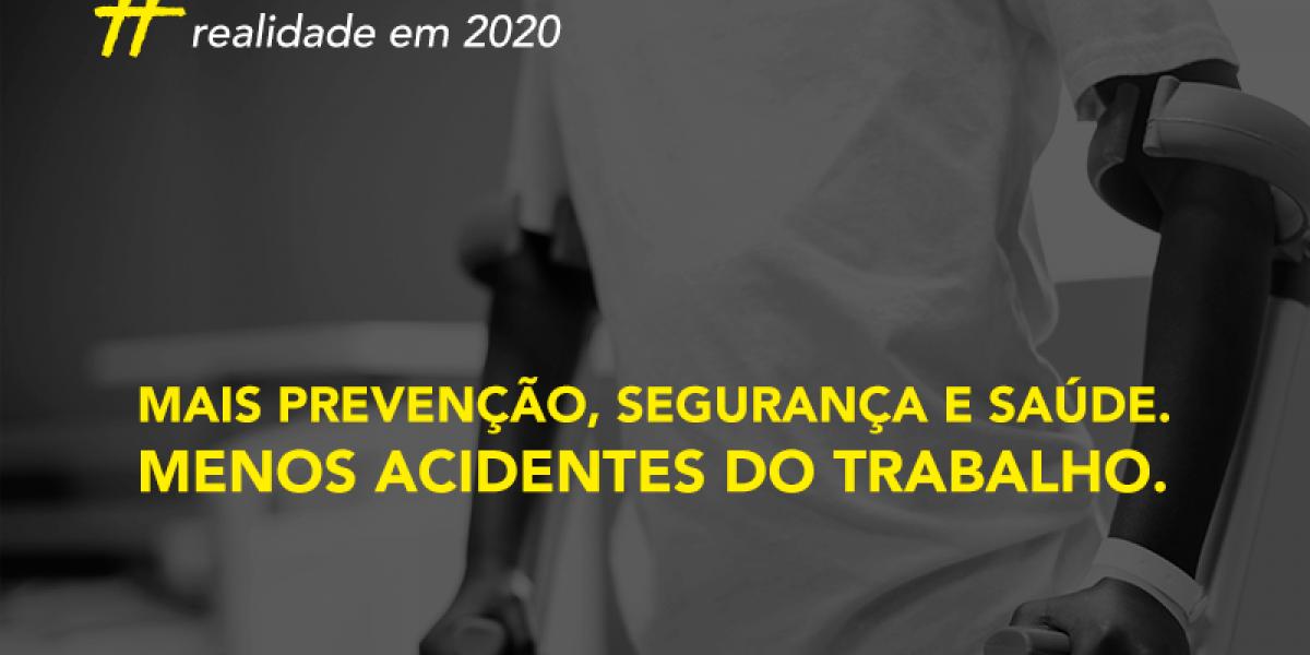 Um acidente de trabalho é registrado no Brasil a cada 49 segundos