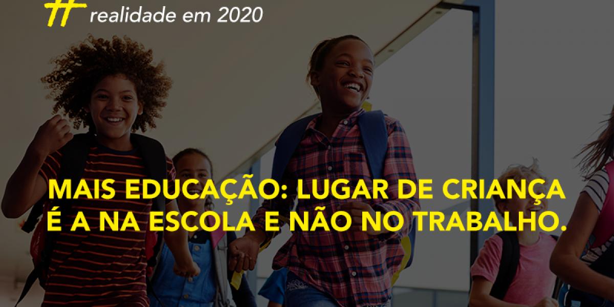 Existem 2,7 milhões de crianças e adolescentes com idade entre 5 e 17 anos trabalhando no Brasil.
