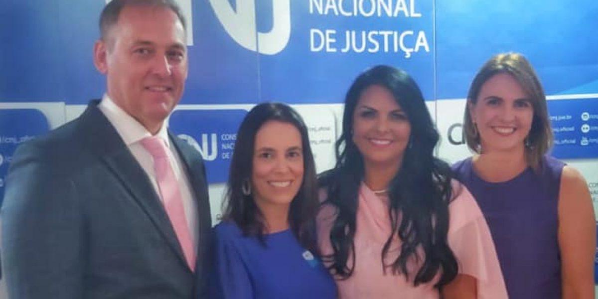 A Amatra IV prestigiou a posse da Desembargadora do Tribunal Regional do Trabalho da 4ª Região Tânia Reckzieguel como conselheira do CNJ
