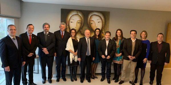 Reunião com deputados federais do PDT