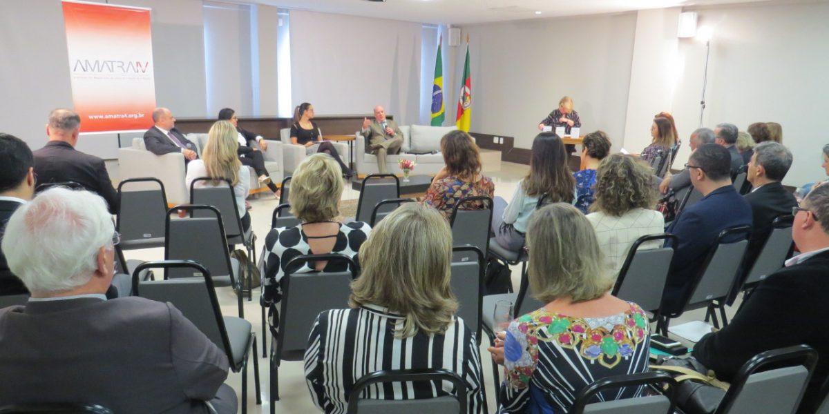 Eleições TRT: AMATRA realiza debate entre candidatos