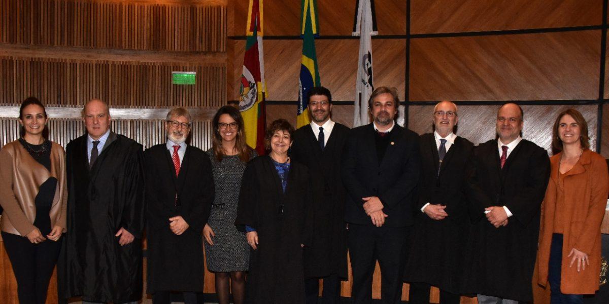 Eleição TRT e Escola Judicial: votação do Tribunal Pleno ratifica escolha dos magistrados da 4ª Região