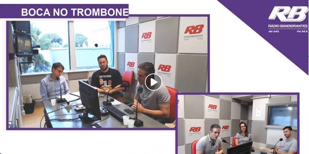 Participação no Programa de rádio Boca no Trombone